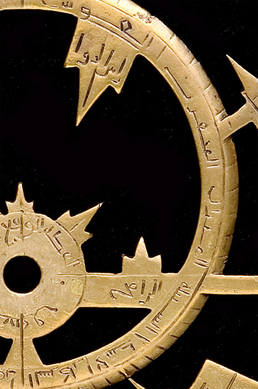 9th century syrian astrolabe