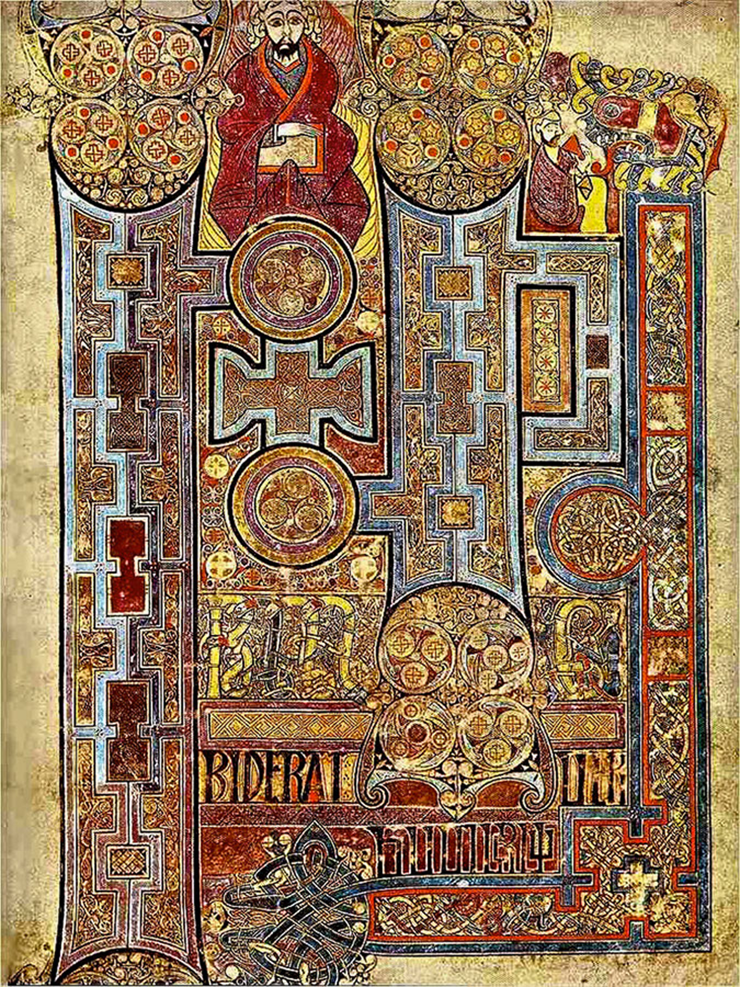 part page, book of kells folio 292r