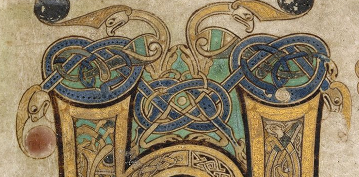part page, book of kells folio 8r
