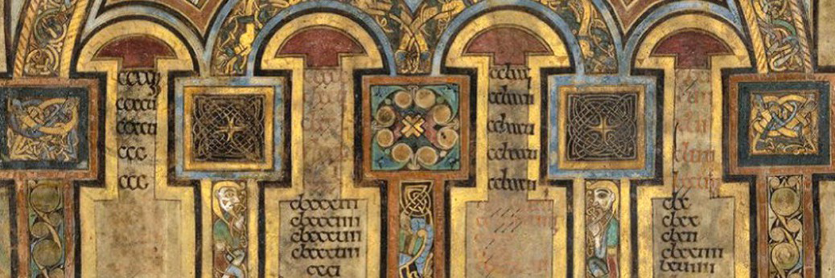 part page, book of kells